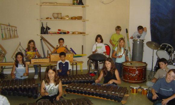 Salle de musique du Moulin des Sittelles