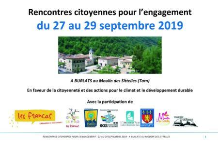 RENCONTRES CITOYENNES POUR L'ENGAGEMENT