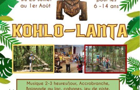 Séjour vacances    «KOHLO-LANTA»