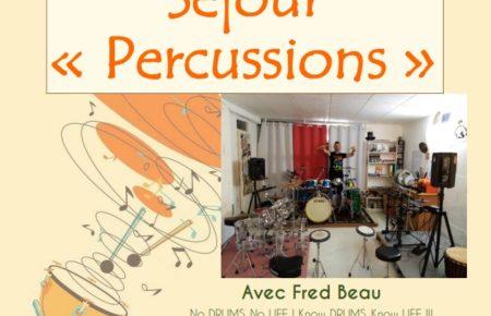 Séjour vacances » Séjour Percussions»